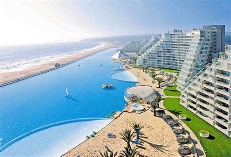 The Largest Swimming Pool In The World Algarrobo Chile Largest Backyard Pool