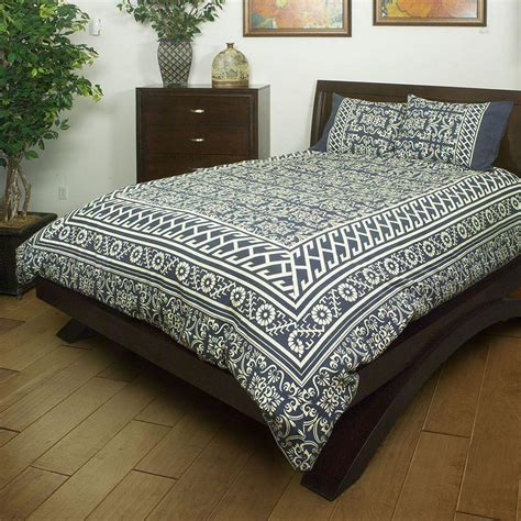 tribal comforter set tribal 3 pc comforter set king blue from kohl s