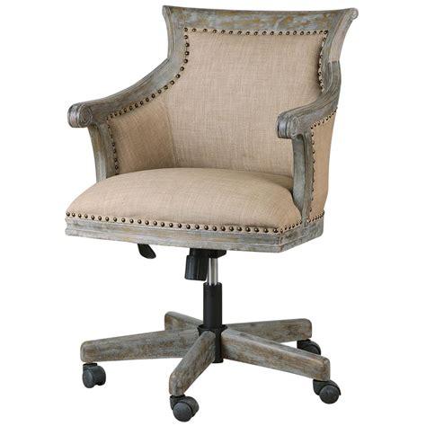 Darius Rustic Lodge Carved Wood Swivel Desk Chair Kathy Wood Swivel Desk Chair