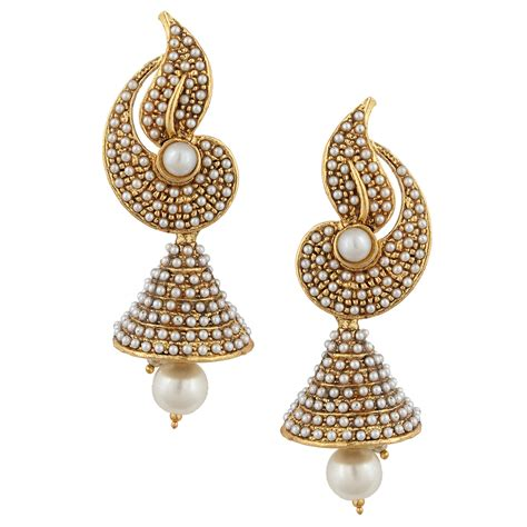 Design Earrings Online | latest jhumka earrings designs in 2017 sari info