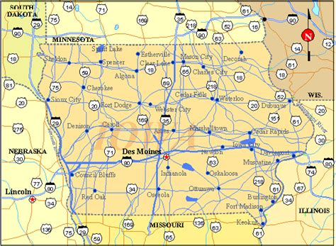 united states map iowa iowa map listings united states