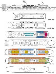 astor deck plan clubtravel cruises m s astor