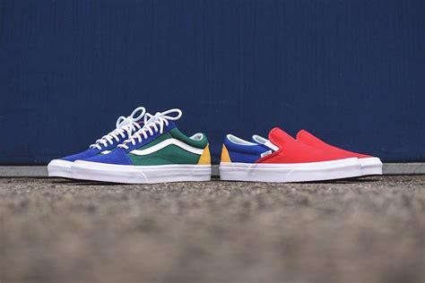 colorful vans clean colorful vans limited yacht club footwear pack