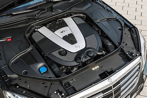 Engine V12 by Mercedes Could Extend Of V12 Engine With 48 Volt