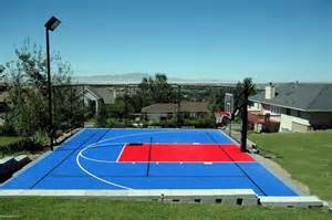 Sport Courts For Backyards Backyard Multi Sport Outdoor Game Courts Contemporary