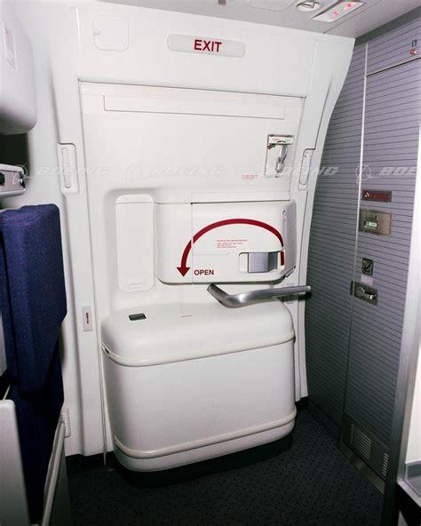 Bbj Interior Boeing Images 777 Exit Door