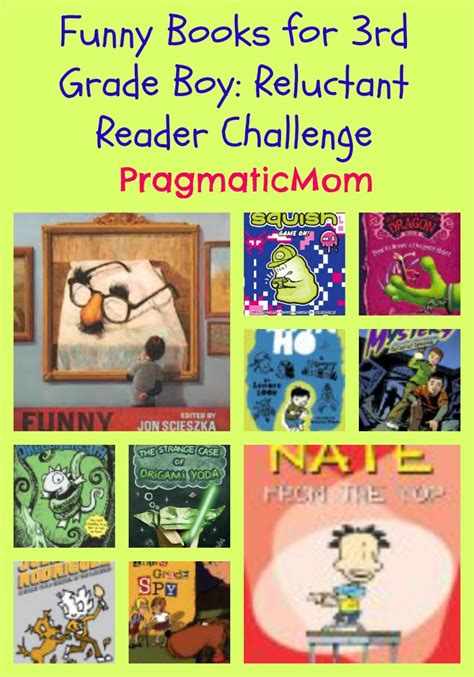 picture books for boys books for 3rd grade boy reluctant reader challenge