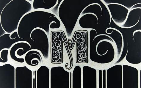 Letter M Wallpaper m letter walldevil