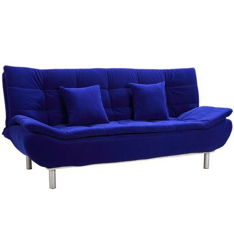 blue sofas and loveseats blue sofa beds my blog