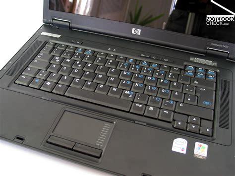 review hp compaq nx7400 notebook notebookcheck net reviews