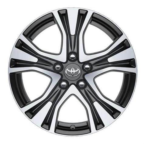 toyota rav4 17 inch alloy wheels genuine toyota rav4 poseidon 17 quot alloy wheel anthracite