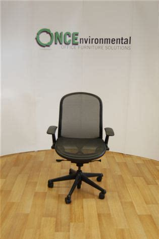 knoll chadwick mesh desk chair used chairs knoll chadwick operator chair in black mesh