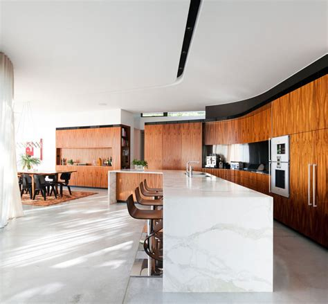 kitchen island sydney lane cove river house in sydney australia