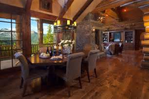 Hacienda Home Interiors by Teton Heritage Builders Handcrafted Homes Lifelong