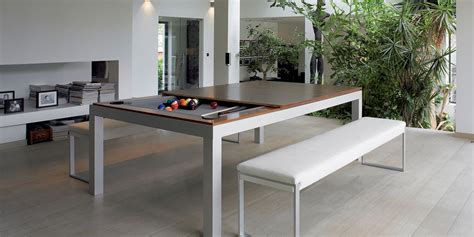 fusion dining and pool table fusion tables fusion pool tables transformable dining