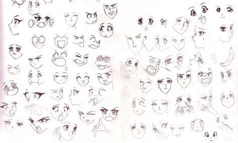Anime Expressions by Anime Expressions Anime Faces By