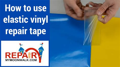 How To Repair Vinyl by Bouncehouseworld
