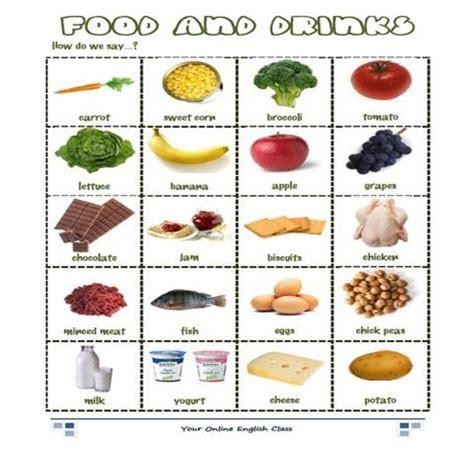 vocabulario ingles cocina comida food yo quiero aprender ingl 233 s