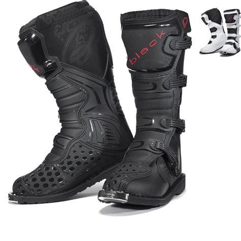 black motocross boots black mx enigma motocross boots ce level 2 certified