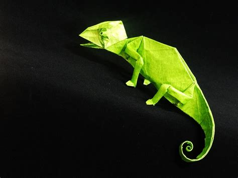Origami Gecko - origami gecko wallpaper high definition high quality