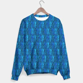 Blue Abstract Sweater scales of blue abstract beanie live heroes