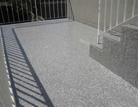 Betonplatten Streichen Terrasse by Niedieker Bedachung