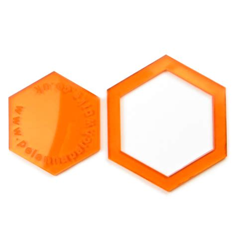 1 hexagon template 1 inch acrylic hexagon patchwork templates pelenna