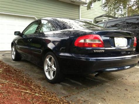 manual cars for sale 2001 volvo c70 parental controls find used rare hpt five speed manual transmission volvo c70 coupe hardtop no reserve in mount