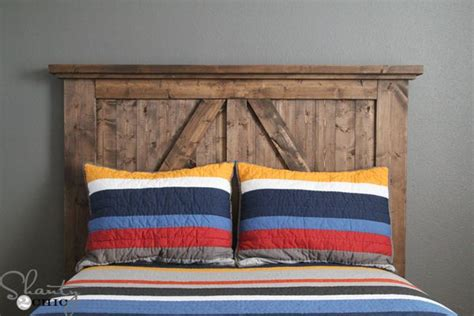 Diy Rustic Headboard Ideas by Diy Barn Door Headboard Instagram Rustic Headboards And
