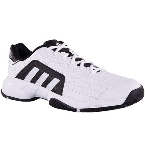 Adidas Tenis Barricade Court 1 Adidas Barricade Court 2 Mens Tennis Shoe White Black