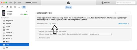 memasukan foto  video  laptop  iphone ipod