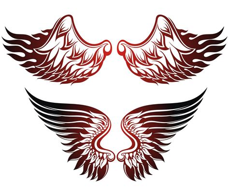 eagle wing tattoo designs bald eagle tattoos