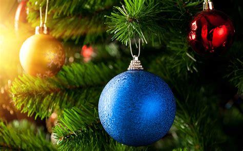 nice beautiful blue christmas ball wallpaper hd wallpapers