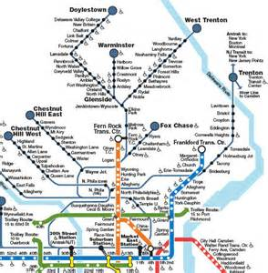 Septa Subway Map by Learn About Septa Transport Modes And Passes