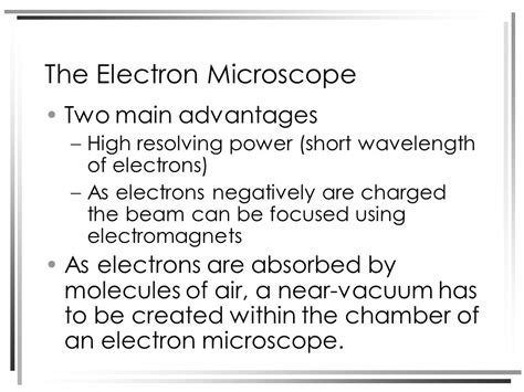 name one advantage of light microscopes over electron microscopes structure of plant and animal cells under an electron