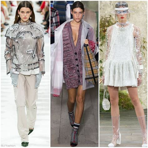 8 Trends Id Like To See In Fashion fashion trend for summer 2018 see through plastic