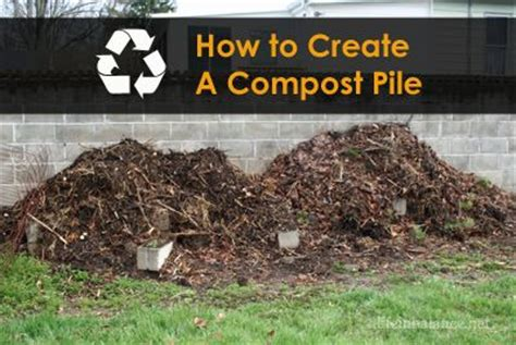 compost how to create a and a on