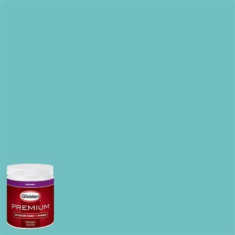 Teal Interior Paint by Glidden Premium 8 Oz Hdgb15d Timberlake Teal Eggshell
