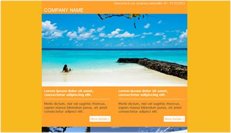 Travel Newsletter Templates travel email newsletter templates email newsletter