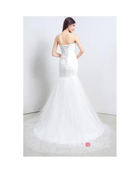 Floor Length Wedding Dress by Mermaid Strapless Floor Length Wedding Dress C20111 188