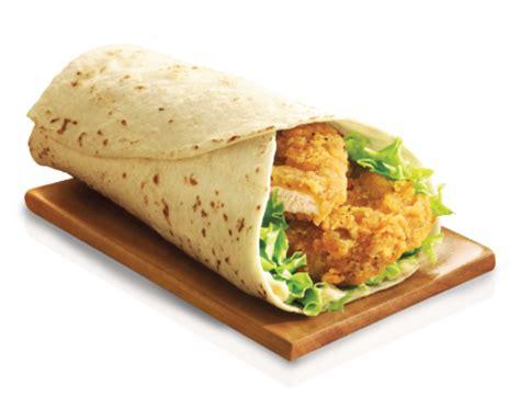Mcd Spicy Peri Peri chicken snack wrap mcdonald s indonesia
