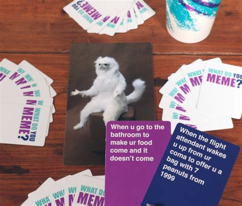 Meme Card Game - what do you meme card game popsugar australia tech