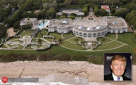 donald trump home address 187 las casas y mansiones de los famosos antes y despues