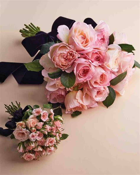 Pink Wedding Flower Bouquets by Our Favorite Wedding Bouquets Martha Stewart Weddings