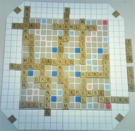 is doze a scrabble word scrabble boards scrabble ii world s best scrabble boards