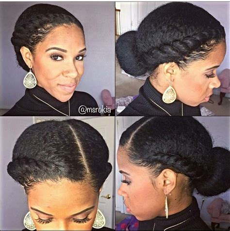 pics of flat hair buns 202 best images about natural buns on pinterest marley