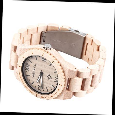 bewell w065a high quality wooden watches mens quartz wrist