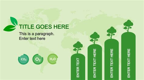 Animated Eco Friendly Powerpoint Template Slidemodel Eco Friendly Ppt Templates Free