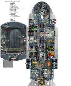 spaceship floor plan generator legfltpxdeckresized jpg 1750 215 2111 planos naves