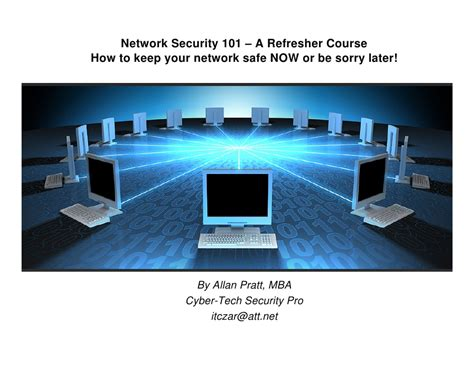 Network Security Presentation Network Security Ppt Templates Free